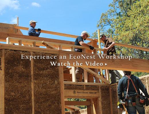 Natural Building Workshops Video