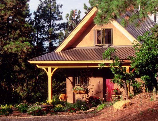 Natural timber frame homes
