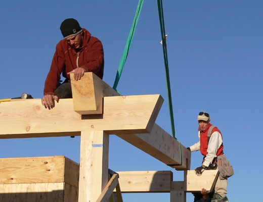 Timber Framing Workshop