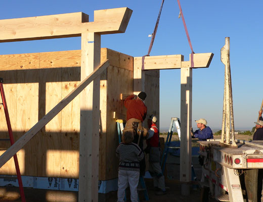 Timber Framing for Graduates